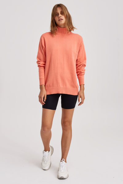BRONCO KNIT neon peach