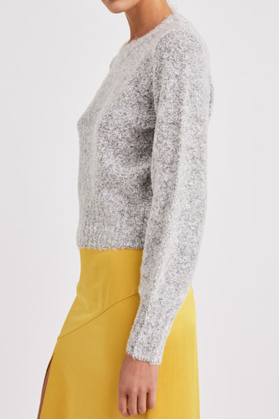 PHRASE KNIT light grey