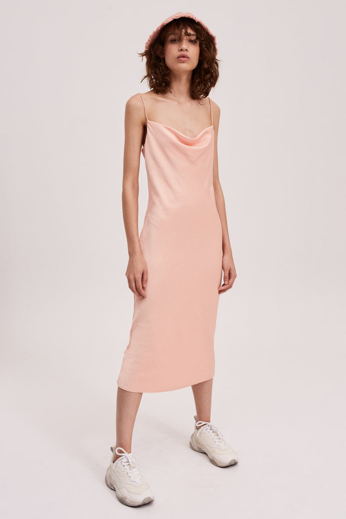 TONIC DRESS light peach