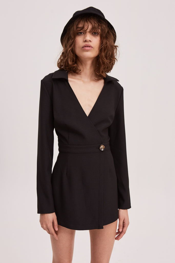 QUARTET PLAYSUIT black