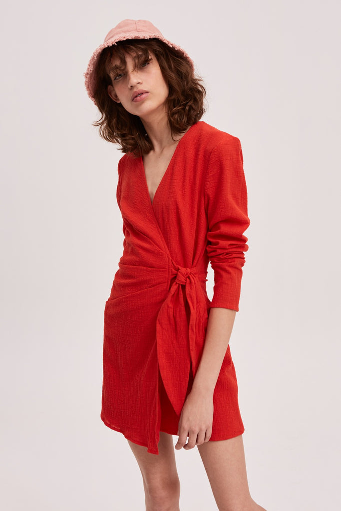 CLASSICAL DRESS red