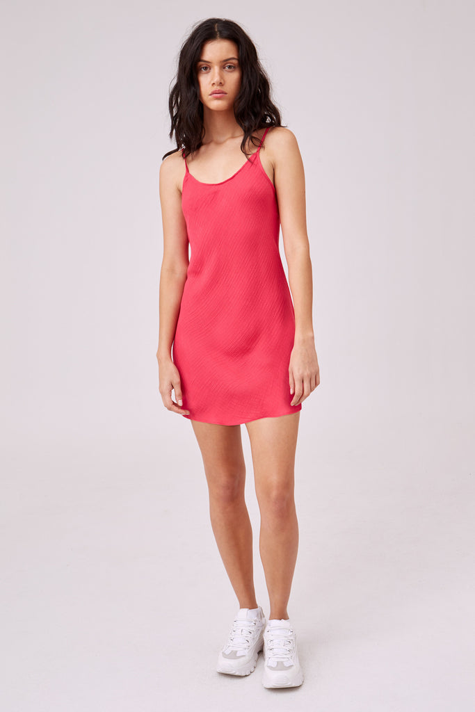 PORTRAITURE CAMI DRESS hot pink