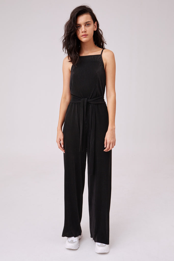 BIOGRAPHY JUMPSUIT black