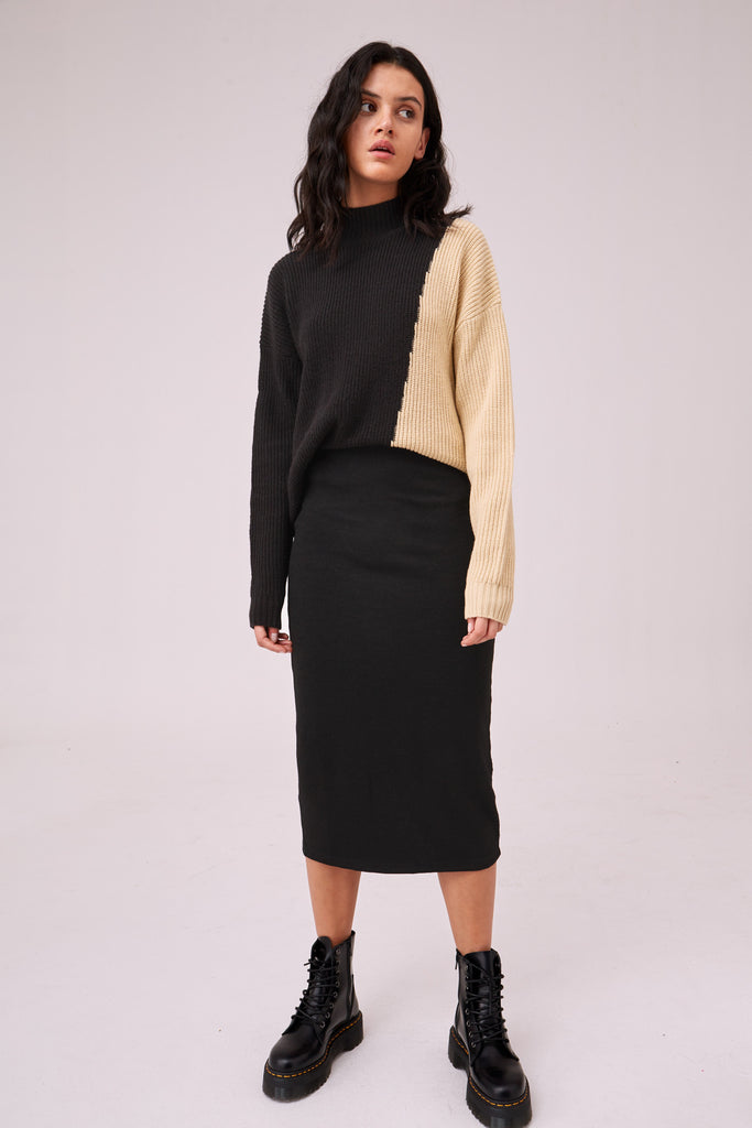 THESIS SKIRT black