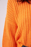 AUTHOR KNIT orange