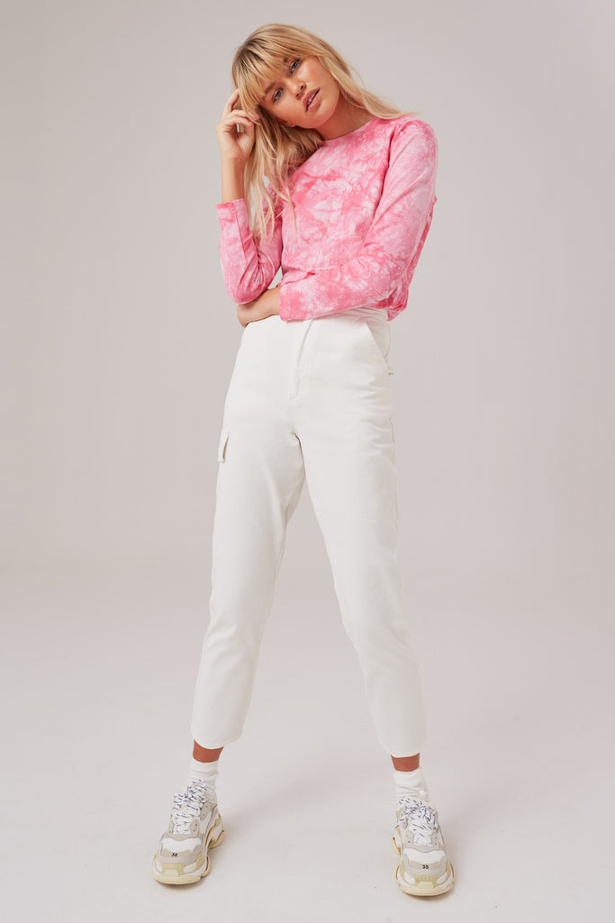 REVIVE PANT ivory