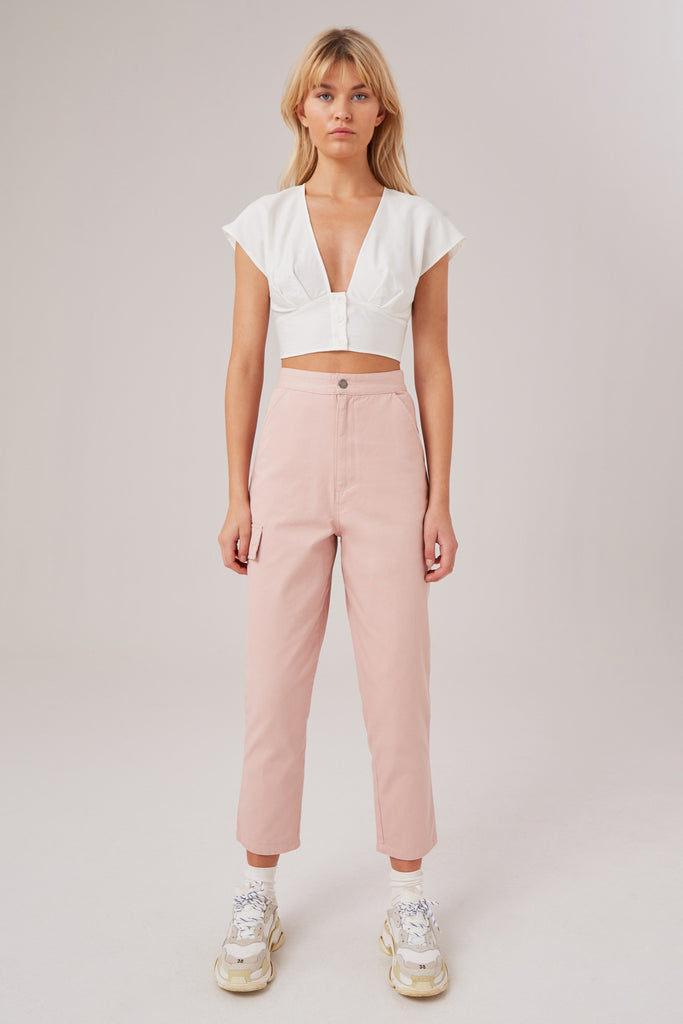 REVIVE PANT light salt pink
