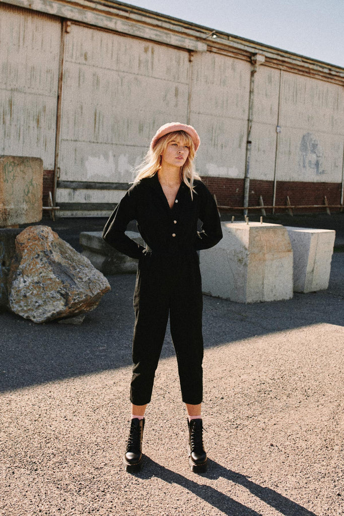 REVIVE JUMPSUIT black
