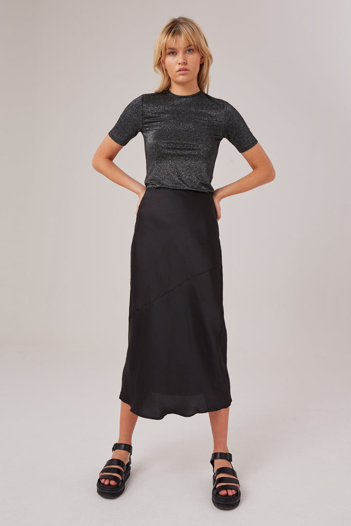 POPULATION SKIRT black