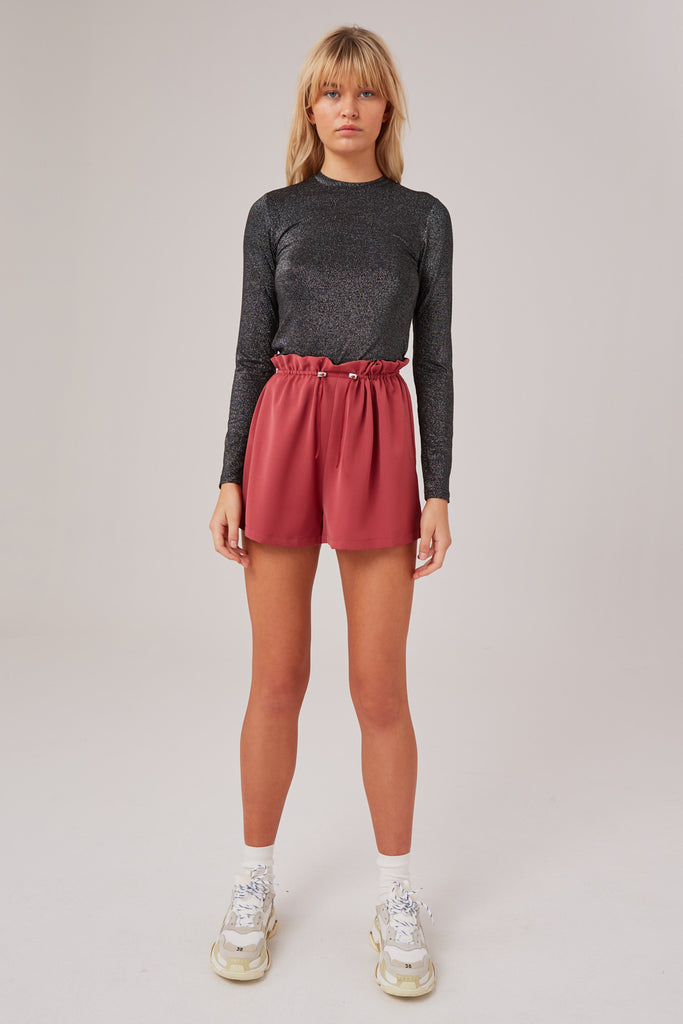 NOCTURNAL SHORT marsala