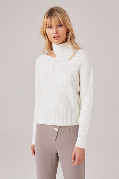 WAKING HOUR KNIT ivory
