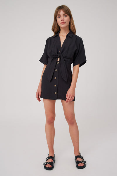 HIDEAWAY MINI DRESS black