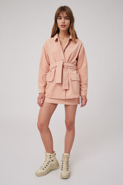 OUTLINE JACKET pink