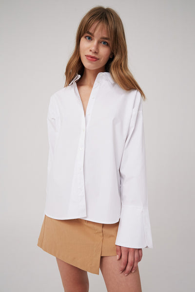 TRICKS SHIRT white