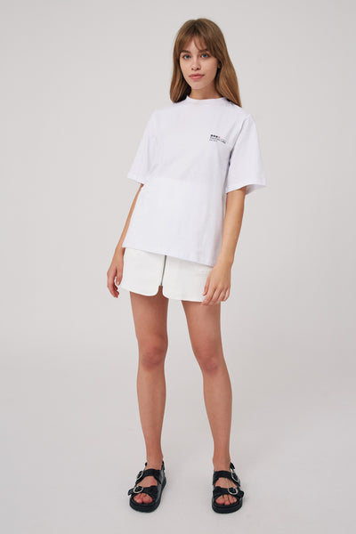 APOLLO T-SHIRT white