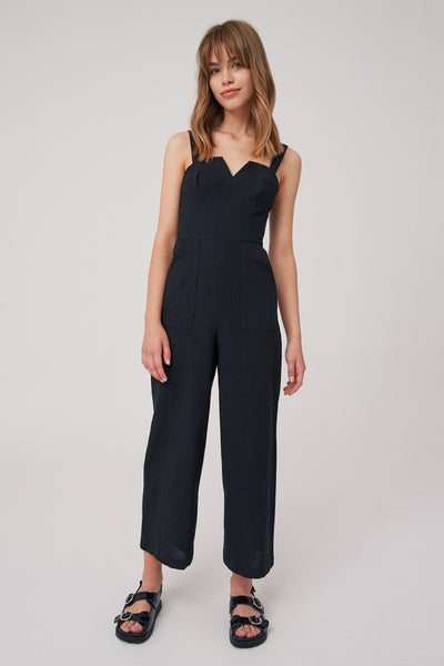 EMBODY JUMPSUIT black