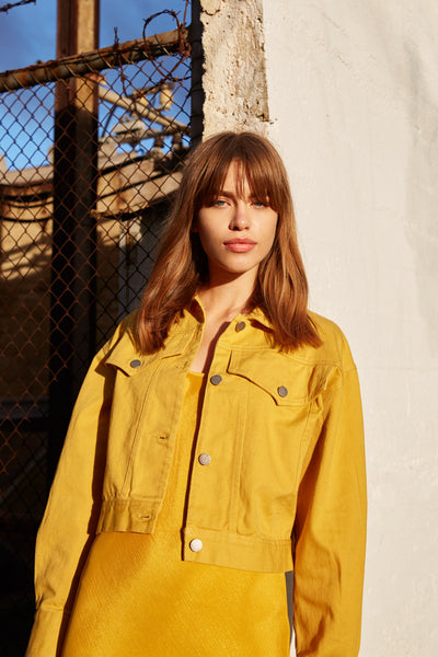 INTENTIONS JACKET mustard