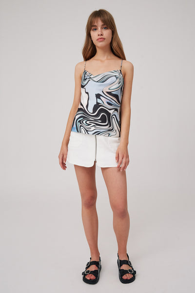 SOUND CAMISOLE black swirl