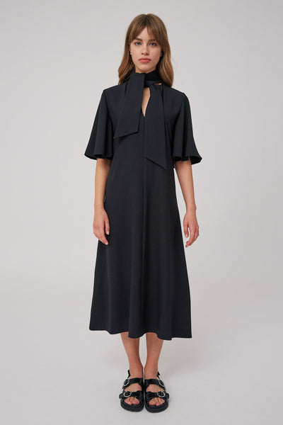 BELIEVE MIDI DRESS black