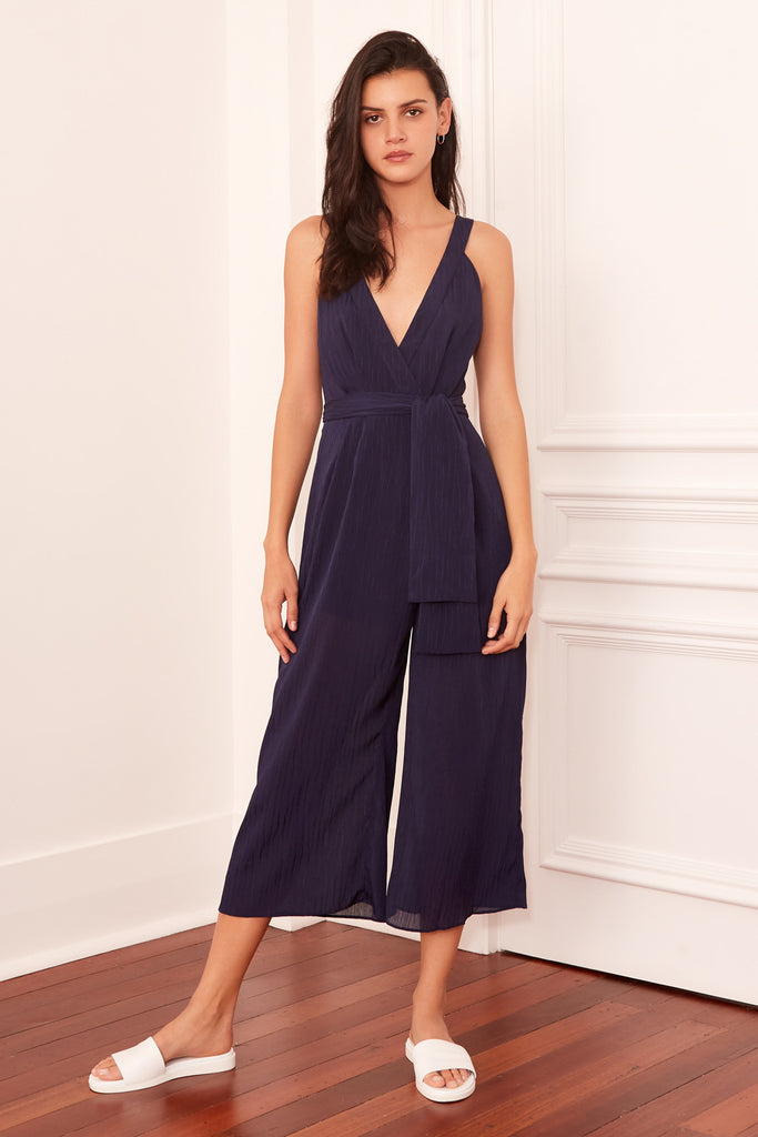 GILDED JUMPSUIT navy