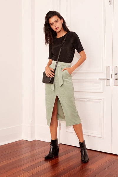 PHILOSOPHY SKIRT sage