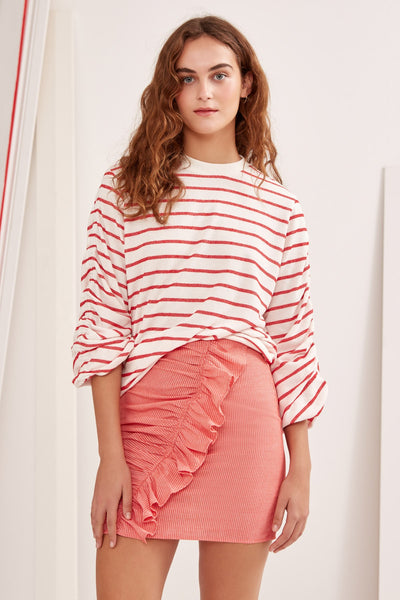 WILD THING JUMPER ivory stripe