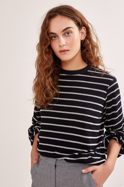 WILD THING JUMPER navy stripe