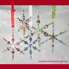 Snowflake Ornament Wire Form