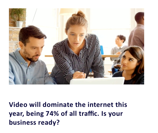 video will dominate the internet this year
