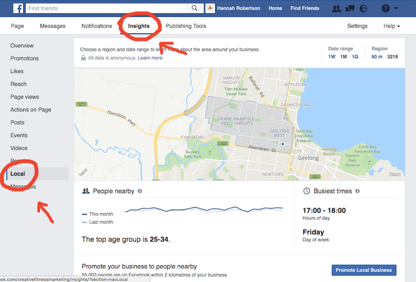 Use Facebook Page Insights To Your Advantage
