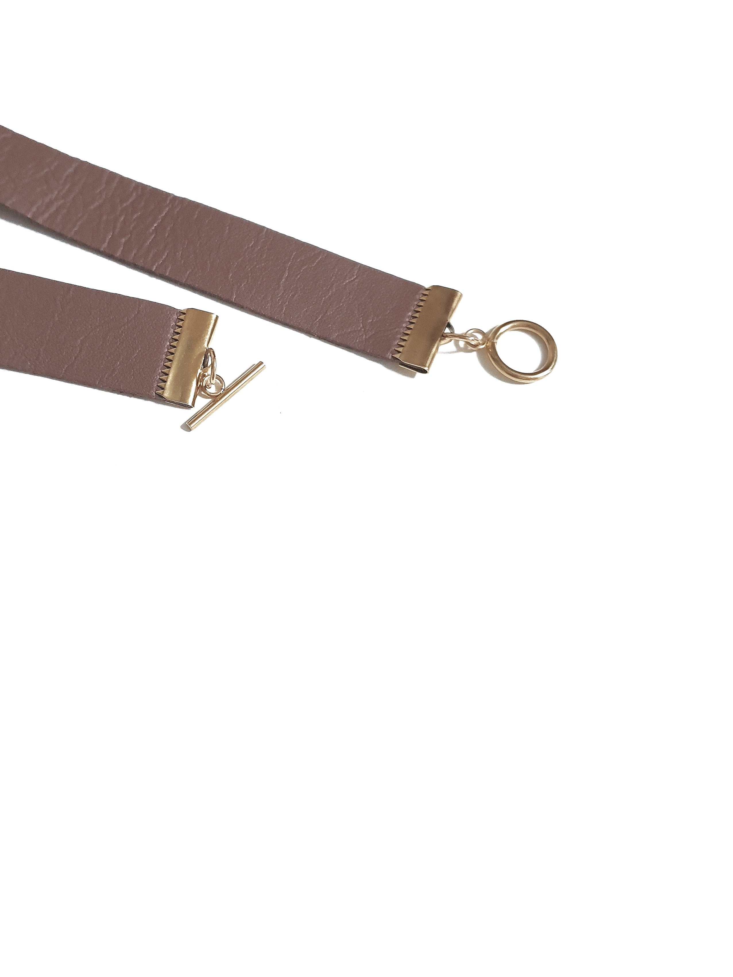 Provision | Neck Straps with Gold Toggle Clasps - YARD YARN - Handcrafted Jewelry - Singapore