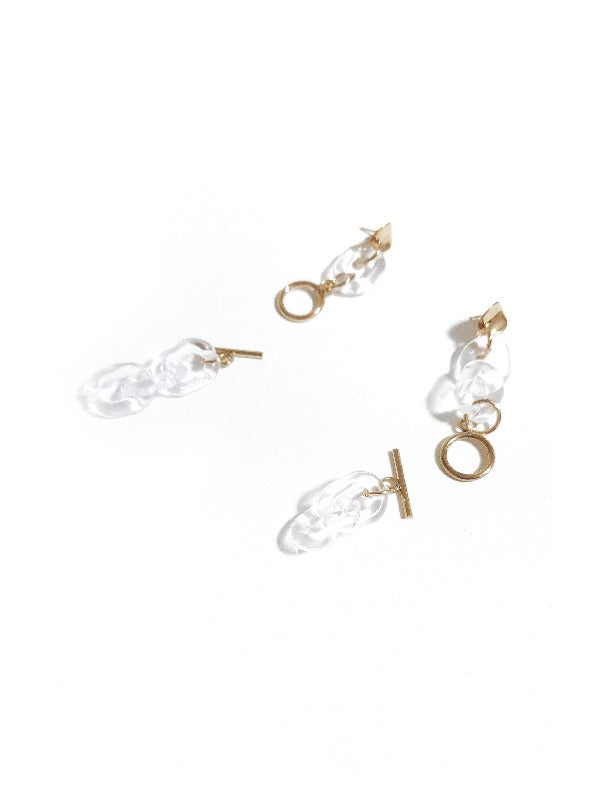 KAY Earrings :CLEAR