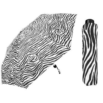 Zebra Print Super Mini Umbrella