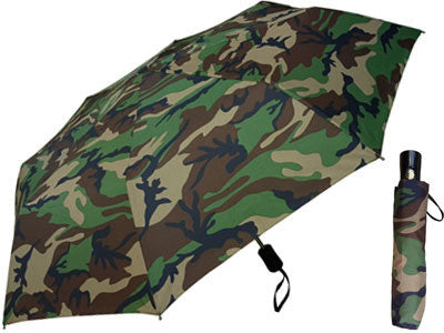 "44"" Auto Auto Mini Camo  Umbrella"