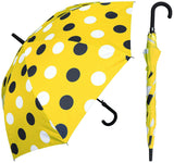 Auto Open Dot Print Umbrella