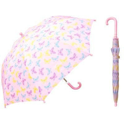 Children's Butterfly Print Umbrella