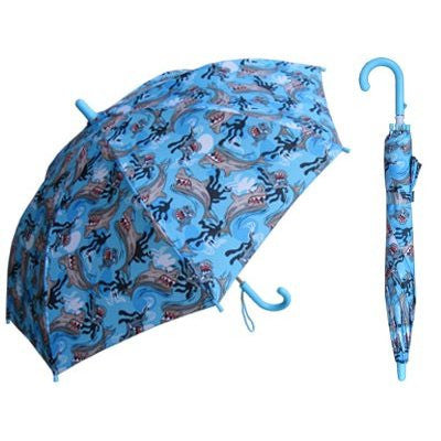 Children's Blue Shark Umbrella