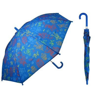 Space Print Children's Umbrella