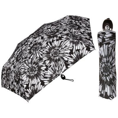 Auto Black & White Prints Umbrella