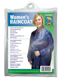 Women's Reusable Raincoat