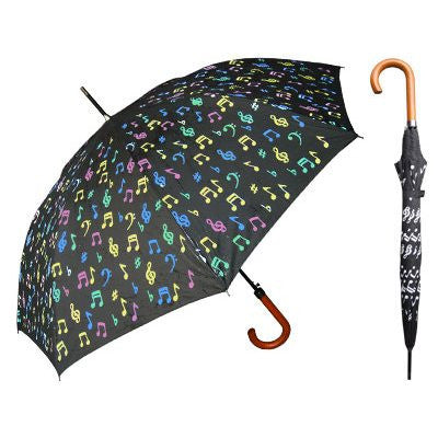 Color Music Notes Umbrella