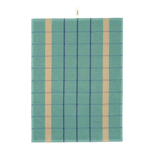 Frotte organic cotton Tea Towel in turquoise