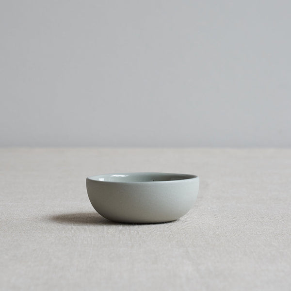 Grey ceramic small pinch pot