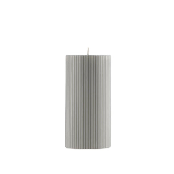 Grooved Pillar Candle
