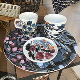 Marimekko Hyhma patterned ceramics at Indish Interiors