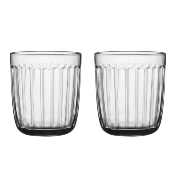 Raami Clear Glass Tumblers 26cl Set of 2