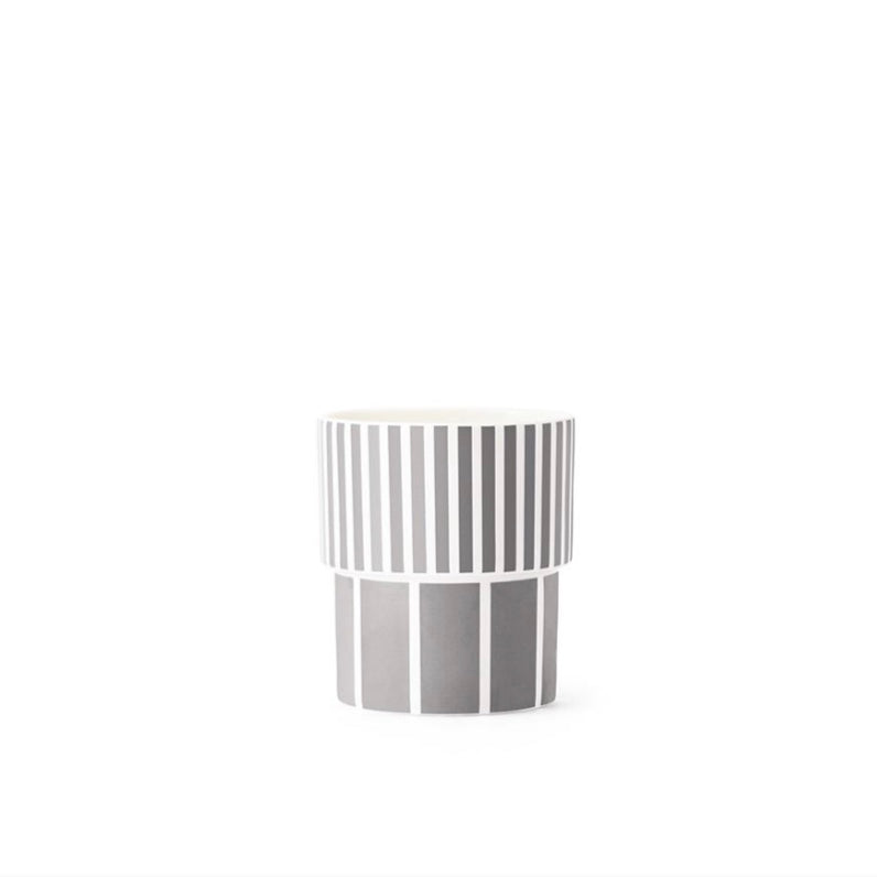 Metal grey Tivoli Lolli Porcelain Cup 17cl by Normann Copenhagen