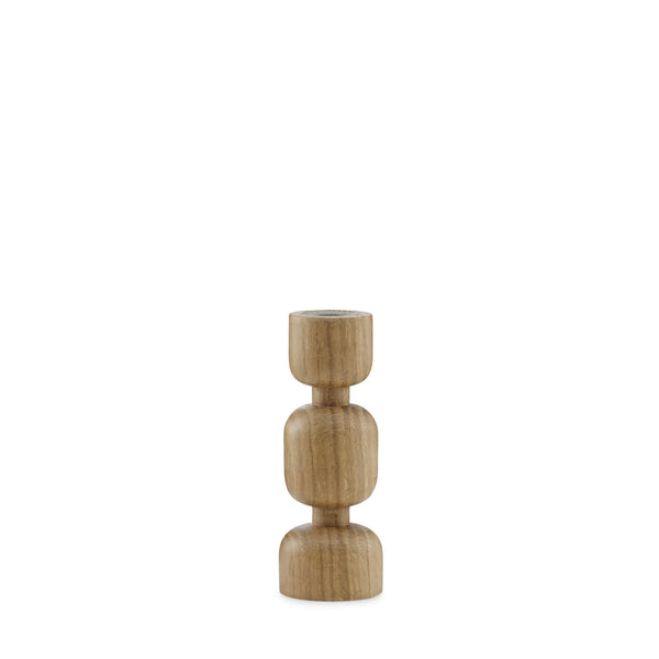 Normann Lumberjack Candleholder Small - Indish Design Shop  - 1