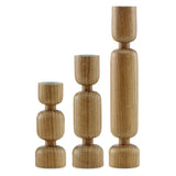 Normann Lumberjack candleholder medium - Indish Design Shop  - 3