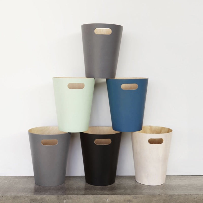 Umbra Woodrow waste bins